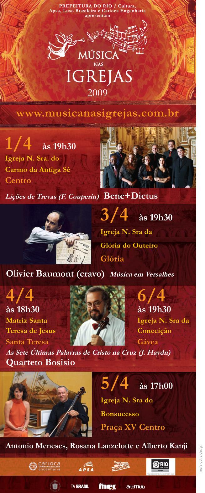 Concertos da Semana