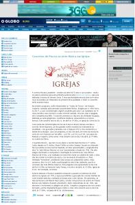 Globo.com - Blog Clube do maestro - Abril 2009